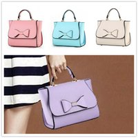 bag of silver coins - Brand new wave of female small fragrant wind bow fashion women shoulder Messenger packet BAG39