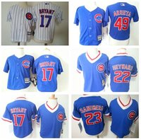 baby cubs jersey - MLB jerseys Chicago Cubs Baby jersey Toddler s Baseball jerseys BRYANT HEYWARD SANDBERG ARRIETA freeshipping