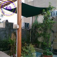 Wholesale x4 M Rectangle HDPE Sun Shade Sail in Arc edge D rings style with UV used for courtyards sun shade