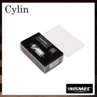 auto fills - Wismec Cylin RTA ml Top Filling System Bottom Airflow Control Auto Dripper with Removable Tank Innovative Notch Coil Original