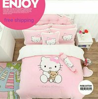 Wholesale kitty cute cartoon illusion princess soft breathing home furnishing fashion candy color suit LX