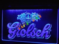 beer artwork - LA007 Grolsch Beer Bar Pub Club NEW LED Neon Light Sign signed artwork sign supplies
