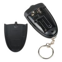 acura key chain - 500pcs Keychain Digital Breathalyzer Alcohol Analyzer Breath Tester LED Flashligh Key chain