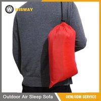 laybag inflável rápido saco de dormir Hangout Lounger Air Camping sofá da praia Nylon Tecido sono Bed preguiçoso Chair