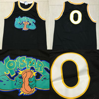 Wholesale Monstars Space Jam Movie Basketball Jersey Men s Stitched Embroidery Logos Basketball Jerseys Mix Order Black S XL