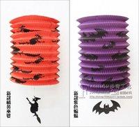 bat supplies - New Arrive Halloween Pumpkin Stretch The Lantern Party Supplies Halloween Festive The Bat Lantern Festive Decorations