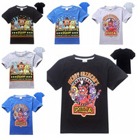 Wholesale Five Nights at Freddy s Boys T shirt Children T Shirts Kids Cotton Boy Clothes Five Nights At Freddys FNAF Tshirt