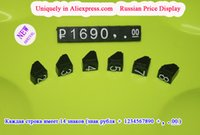Wholesale Uniquely Rouble Currency Sign Pentagon Price Display Russian Price Label set