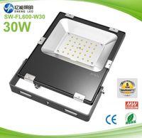 Wholesale 20pcs W w led flood light led street light led spotlight LM W with Lumileds AC85 V years warranty