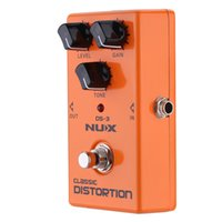 Wholesale NUX Classic Distortion Pedal High Quality Electric Guitar Effect Pedal True Bypass Durable Guitar Parts Accessories