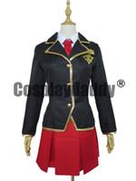 baka to test - Baka to Test to Shokanju Fumizuki Academy Winter Girl Uniform Cosplay Costumes K002