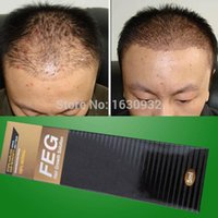 Wholesale 20 pieces Strong Effect FEG Hair Regrow Liquid For Anti loss prevention Solution Hair Loss serum Treatment grow Thicker Longer and Fuller