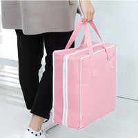 Wholesale grid Shoes Storage Organizer women men bag travel Handbag Waterproof Storage Bags For Travel Shoe