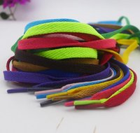 Wholesale Shoelaces colors Flat Shoe Lace Shoelace Strings shoes lace for Sneakers athletic shoes sports shoes