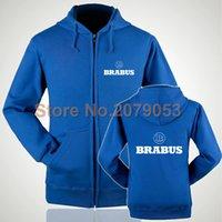 brabus - Women and men BRABUS zipper sweatshirts customed zipper hoodie