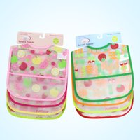 baby rice brands - The mini order is piece Baby rice pocket child waterproof bibs baby bear Brand Clothing Towel Kids Clothing Accessories