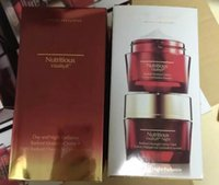 Wholesale 2pcs lset New Red Pomegranate Nutritious Vitality8 Day and Night Radiance Radiant Moisture and Radiant Overnight Rosy Prism cream ml ml