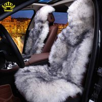australian car seats - 100 Natural fur Australian sheepskin car seat covers universal size for seat cover accessories automobiles