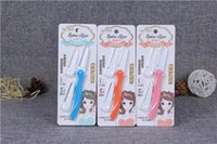 Wholesale Eyebrow Razor Women Legend Stainless Steel Knife Send Bit Sharp And Durable Folding Remover Tool Eyebrow Razor Shaver Portable Exquisite