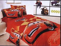 american cars wash - Boys Cotton Cartoon Bedding Supplies Kids adult duvet cover flat sheet set boys the cars bedding set twin single size set