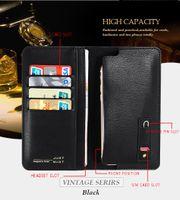 apple hand bag - Phone wallet case cover credit card bag PU leather hand bag for iPhone6 s iPhone7 Samsung C5 C7 Galaxy Note7 Huawei Honor8 KOOLIFE Vintage