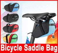 Wholesale Roswheel Outdoor Cycling Mountain Bike Bicycle Saddle Bag Back Seat Tail Pouch Package Seat Bag Colors