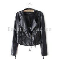 american apparel winter coat - Leather Jacket Women Autumn Winter American Apparel Fashion Tassel PU Faux Leather Coat Leather Clothing Women Jaqueta