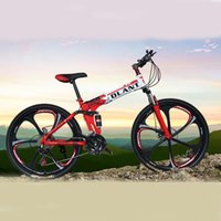 Wholesale US Stock Stylish Cool Inch Speed Mountain Bike Bicycle Folding Bikes Six Spokes Double Damping Sports