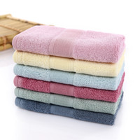 Wholesale 2016 Inexpensive Bamboo Fiber Towel Manufacturers Deep Green Pigment Towel Antibacterial Towel Infant HY1247