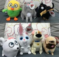 best pet games - best quanlity styles inch The Secret Life of Pets plush toys cartoon Stuffed Animals super soft doll D810