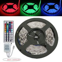 Wholesale 5M RGB LED strip LED Non waterproof DC12V key controller LED strip kit