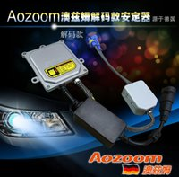 Wholesale High quality can be Fast Bright HID Digital Ballast AOZOOM Brand AC W Xenon Ballast Fast Start