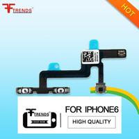 al por mayor flex prueba iphone-para el iPhone 6 Volumen del botón del control de reemplazo Silencio Flex Ribbon Cable de Reparación de la alta calidad 20pcs 100% Probado / lot
