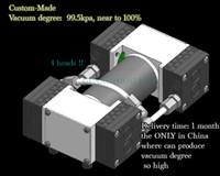 Wholesale Mini V Vacuum Pump kPa Negative Pressure Pump EPDM Diaphragm Pump Low Noise vibration For Air Gas Steam Pumping Transport