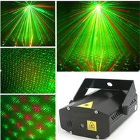 Wholesale Green Red sky star laser projector dj stage disco laser light voice control Home lighting party lights christmas laser show