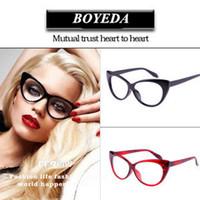 Wholesale Fashion Cat Eye Glasses Frames Brand Designer Eyeglasses Women Optical Glasses of Cat s Eye Female Spectacle Frame oculos