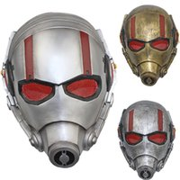accessories frp - Piece Movie Ant Man Full Face FRP Antman Cosplay Masks Helmet Party Halloween Styles