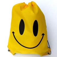 beam suits - new outdoor smile draw string sundry receive splash water shoe bag beach bathing suit pocket backpack beam