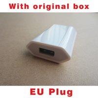 ac logos - Original Quality A400 with LOGO EU Plug USB AC Power Wall Charger Travel Adapter iphone s S C With Original Box
