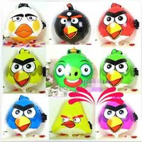 Wholesale 19 inch Angry Bird Cartoon Animals Foil Balloon Children Gifts Party Adornment Balloons Decor Toys Hot
