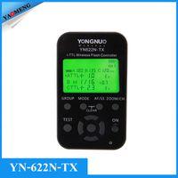 Wholesale Yongnuo YN N TX YN622N TX LCD Wireless i TTL Flash Trigger Controller For YN N Flash Transceiver Receiver For Nikon