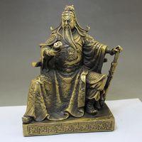 antique bronze sculptures sale - 2016 Hot sale Collection of feng shui home furnishing articles guan yu Guan Gong bronze sculpture