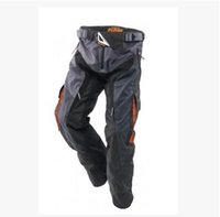 Wholesale 2016 NEW KTM Cross Country Trousers Pants All Round Pants Waterproof Men s Motorcycle Cycling Racing Pants With Protector Black M L XL
