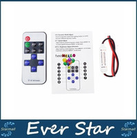 Wholesale Led Controller key wireless DC5 V mini dimmer RF remote control for single color led strip high quality