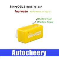 Wholesale NitroOBD2 for Benzine cars gasoline Plug Drive function the increasing the performance of engine OBD2 Chip Tuning