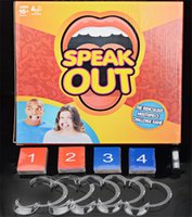 Wholesale Best selling Speak Out Game Best Selling Board Game Interesting Party Game for christmas for hallowmas Of