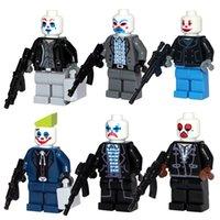 bank dc - 2016 New Bank Case Joker DC Super Heroes Minifigures Different Versions Building Blocks Bricks kids toys PG8016