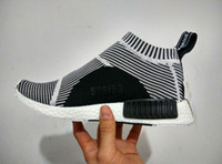 Wholesale New Boost Primeknit Fashion Originals NMD Sneakers for Men and Women running shoes