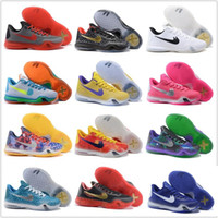 Wholesale Authentic Children Kids Cheap Basketball Shoes Men Kobe X Sneakers Good Quality Hot Sale KB10 Discount Cassic Sports Shoes Size