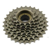 Cheap outdoor sports parts high quality products bicycle accessory 8 speed friction no-index freewheel mountain bike freewheel